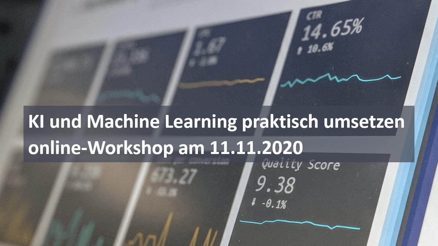 bavAIRia_online-Workshop KI &Machine Learning praktisch umsetzen