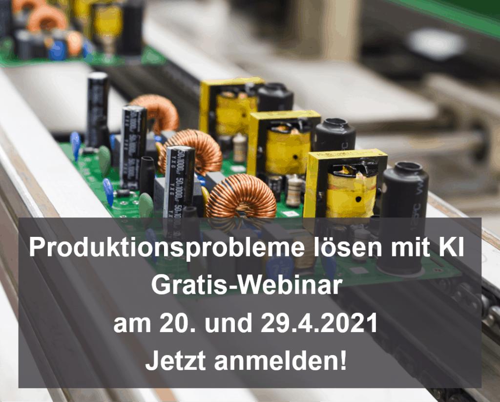 Mit KI Probleme in der Produktion schnell lösen - Gratis-Webinar